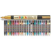 Posca toll - PC-3M, vegyes színek