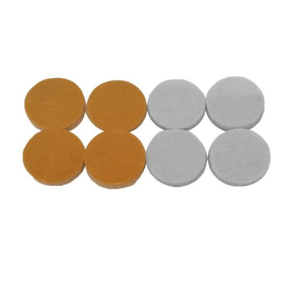 Bútorcsúsztató filc, 18-24 mm, 8-12 db/cs.