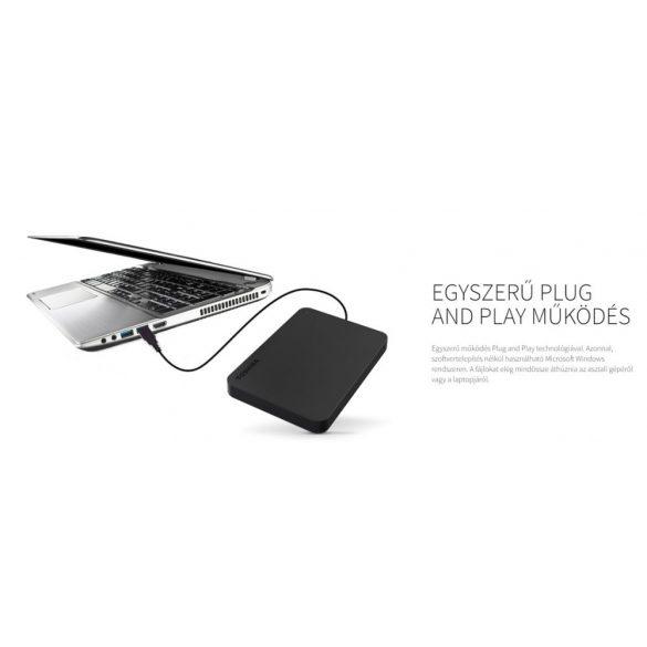 Toshiba Canvio USB külső merevlemez - 1Tb