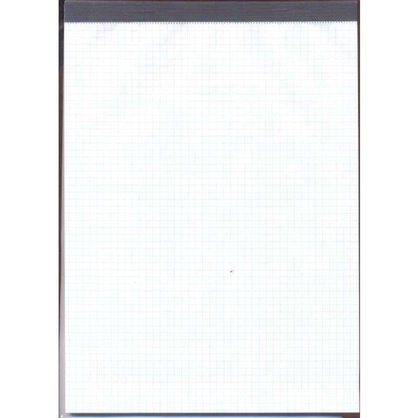Jegyzettömb A4  Sima/vonalas (fejben sapkázott)