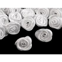 Szatén rózsafej, 1,2 cm, db. ár