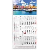 Speditőr naptár 2021, névnapokkal, képpel