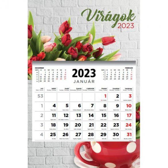 Speditőr naptár 1Tömb/3 Havi - 2021