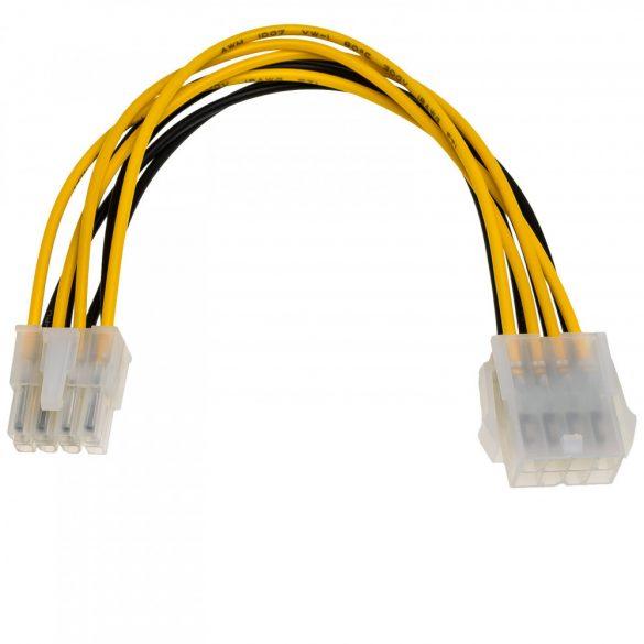 Adapter 8 pin hosszabbító alaplap táp EPS