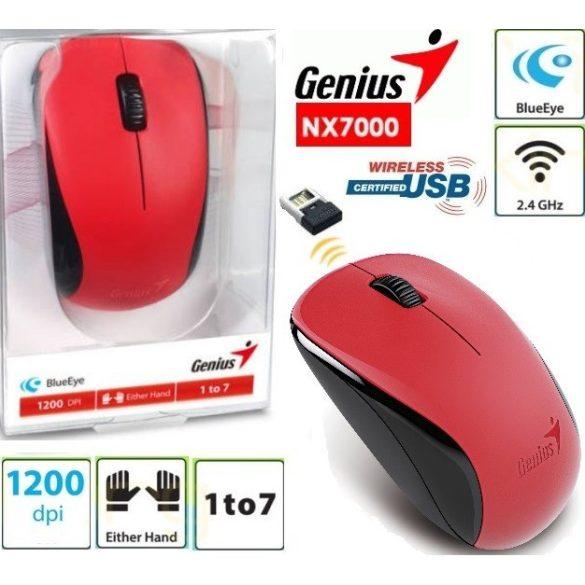 Egér Genius Optical Wireless NX-7000 - Több színben