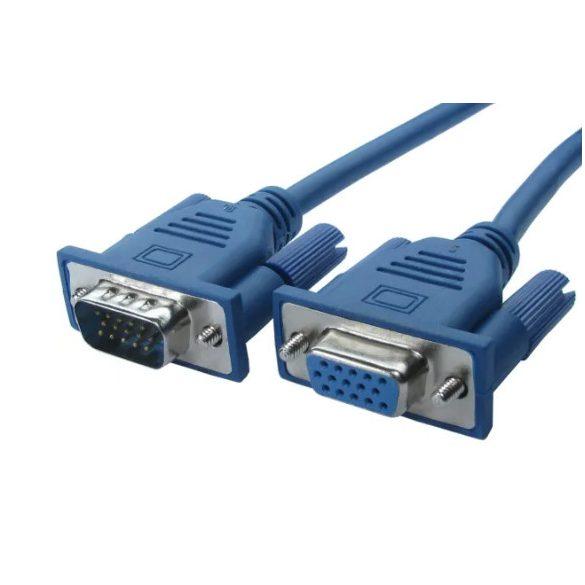 Kábel VGA hosszabító (3m)
