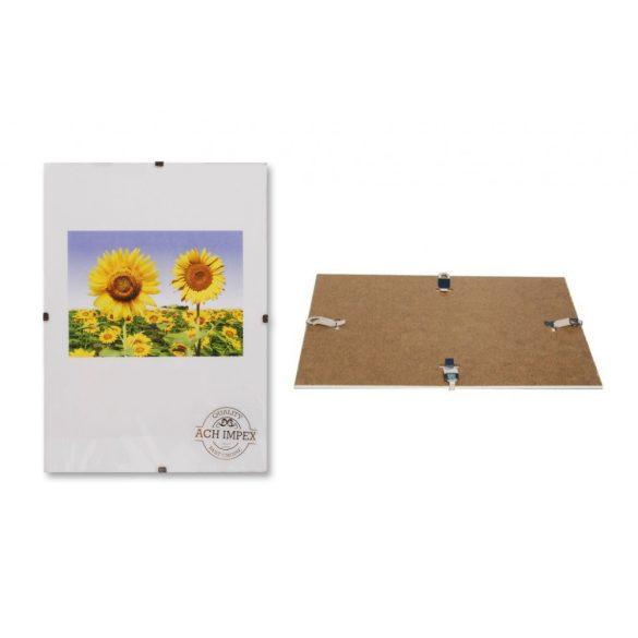 Üveg Képkeret  clip-es - 10×15 cm