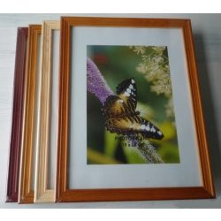 Képkeret, fa, 10×15 cm-es képnek