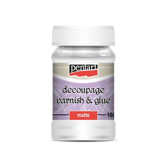 Decoupage ragasztó matt, 100 ml