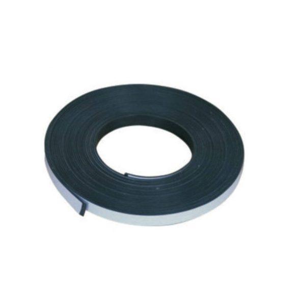 Mágnes szalag ragasztós, 12,7mm×1,5mm, méterre