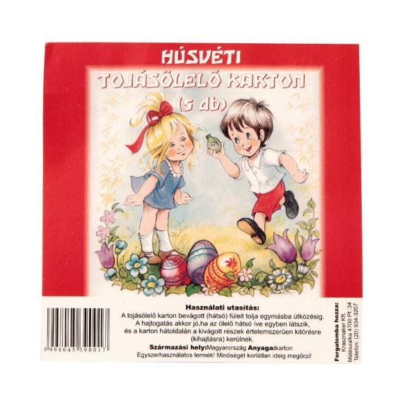 Húsvéti tojásölelő karton - 5db/csomag