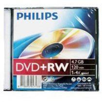 Lemez Philips DVD+RW (Újraírható)