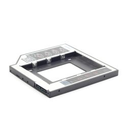 HDD/SSD Beépítő keret 2,5 Gembird CD/DVD foglalatba.