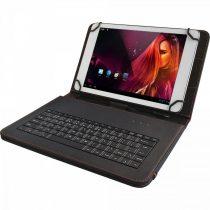 """Táska Yenkee YBK 1010BK tablet tok billentyűzetes 10"""""""