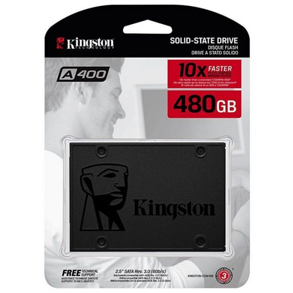 SSD Kingston A400 - 480GB
