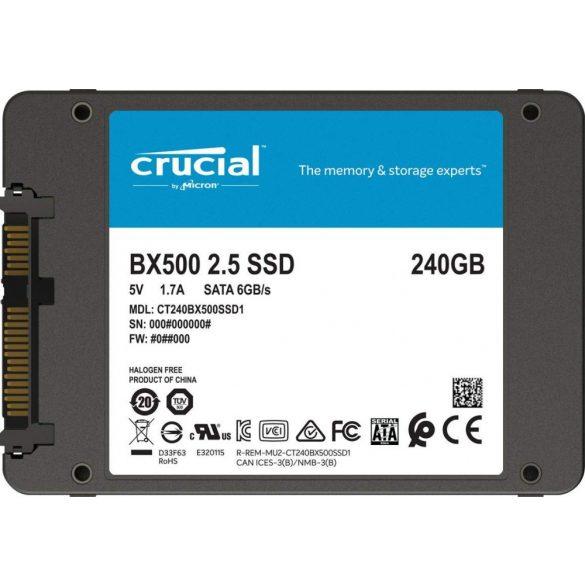 HDD/SSD Crucial BX500 240GB SSD
