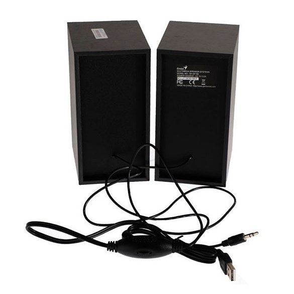 Audio Hangfal Genius SP-HF180 USB fadobozos
