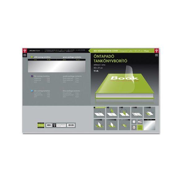 Tankönyvborító öntapadós  (10 db/ csomag)  - 50x33 cm