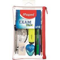 "Iskolacsomag MAPED ""Exam Pack"" - 10 darabos"