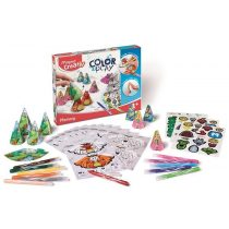 """Kreatív készségfejlesztő készlet - MAPED CREATIV, """"Color and Play"""" Memóriajáték"""