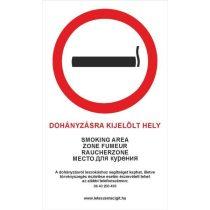 Matrica (Nagy) - ^Dohányzásra kijelölt hely^