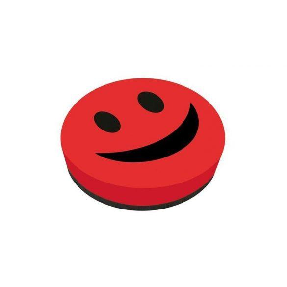 Táblatörlő szivacs Smiley Mágneses