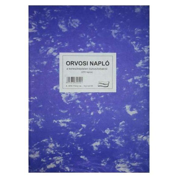 Orvosi napló - 200 lapos