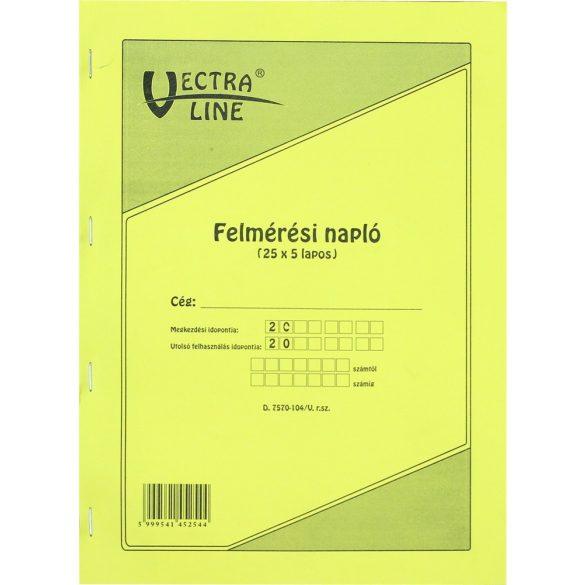 Felmérési napló - D.7570-104/V