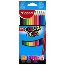 """Színesceruza készlet MAPED """"Color Peps"""" 12 db-os háromszögletű"""
