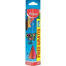 Színesceruza készlet + Hegyező - Maped Color Peps