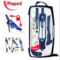 Körző készlet MAPED Technic Compact -  4 darabos