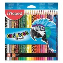 Színesceruza Maped Color Peps Animal - 24 db-os