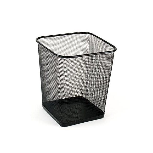 Papírkosár VICTORIA Szögletes fémhálós (18 liter) - Több színben