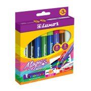 Színváltó filctoll készlet, 6 szín+2 magic/doboz