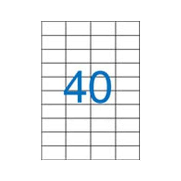 40 Etikett cimke/Lap Victoria A4