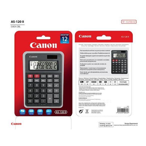 Számológép Canon AS-120 Asztali
