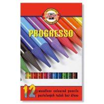 Koh-I-Noor Progresso - 12 db-os színes ceruza készlet