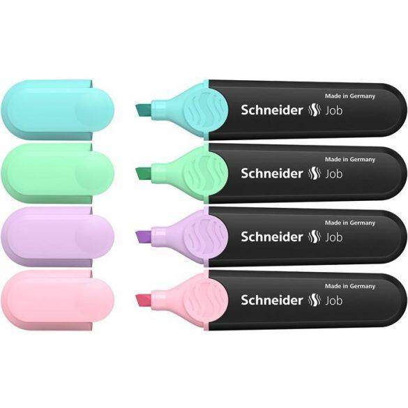 Szövegkiemelő Schneider - 4 pasztell szín