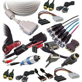 Adapterek, kábelek és csatlakozók