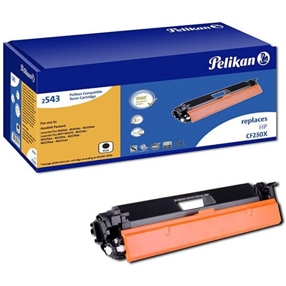 Toner PELIKAN CF230X HP utángyártott.