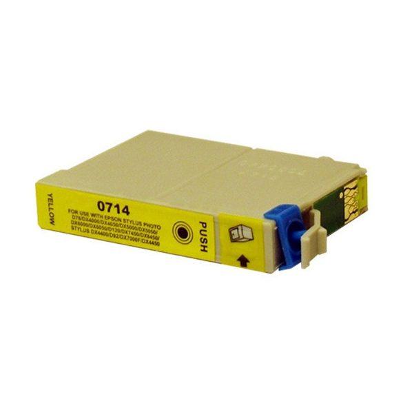 Patron Epson T0714 Yellow utángy.