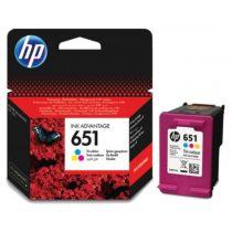 Patron HP 651 Color EREDETI
