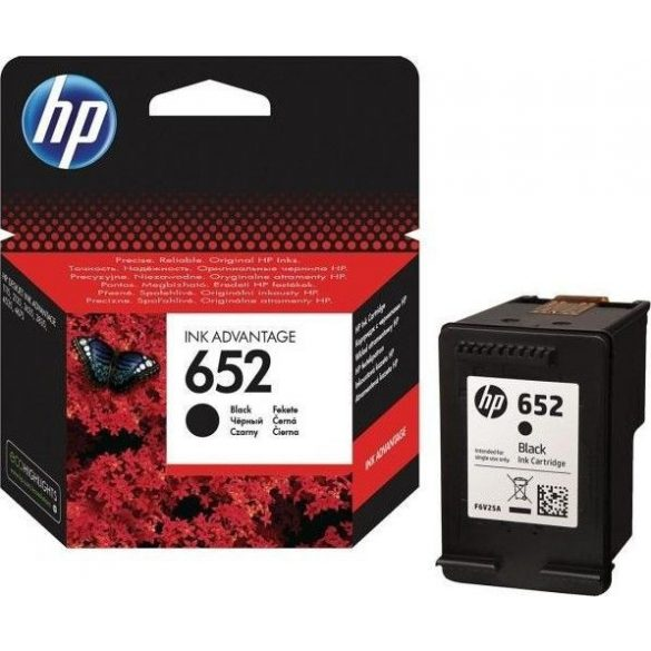 Patron HP 652 Black EREDETI