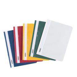 Gyorsfűző PVC A5 méretben, különböző színekben